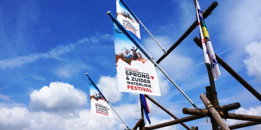Zuiderwaterlinie Banners